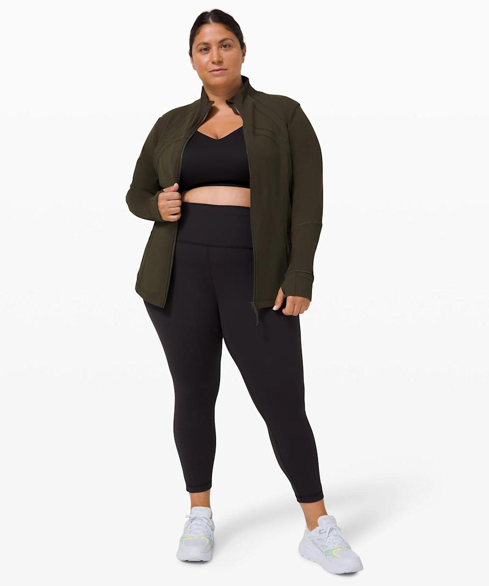 <p>Fall calls for the perfect outer layer, this <span>Lululemon Define Jacket</span> ($118).</p>