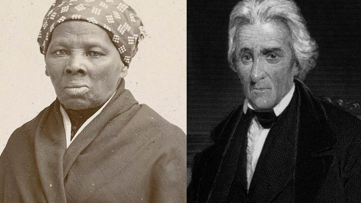 Harriet Tubman (left) and former President Andrew Jackson (right) (Photo: Getty Images)