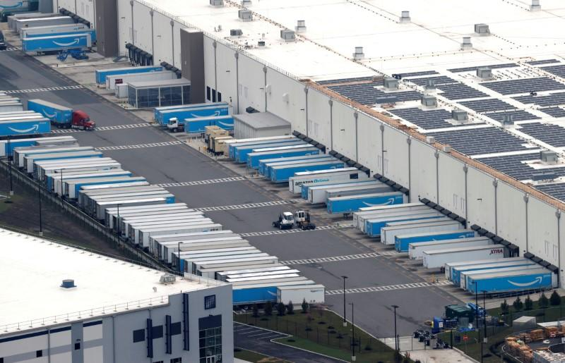 Amazon is sued over warehouses after New York worker brings coronavirus home, cousin dies