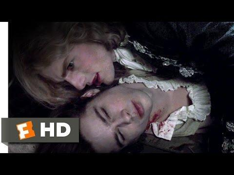 "<p>Based on Anne Rice's 1976 novel of the same name, <em>Interview With the Vampire</em> flashes back and forth between 1791 New Orleans, 1870 Paris, and modern-day San Francisco. This vampire movie follows Lestat (<a href=""https://www.menshealth.com/entertainment/g30626427/tom-cruise-movies-list/"" rel=""nofollow noopener"" target=""_blank"" data-ylk=""slk:Tom Cruise"" class=""link rapid-noclick-resp"">Tom Cruise</a>) and Louis (Brad Pitt) after Lestat transforms Louis, and their story later includes a ten-year-old named Claudia (Kirsten Dunst) that they also turn into a vampire.</p><p> <a class=""link rapid-noclick-resp"" href=""https://www.amazon.com/Interview-Vampire-Chronicles-Tom-Cruise/dp/B001AITH50?tag=syn-yahoo-20&ascsubtag=%5Bartid%7C10063.g.34261614%5Bsrc%7Cyahoo-us"" rel=""nofollow noopener"" target=""_blank"" data-ylk=""slk:Stream it here"">Stream it here</a></p><p><a href=""https://www.youtube.com/watch?v=c9cV7bFKMNQ"" rel=""nofollow noopener"" target=""_blank"" data-ylk=""slk:See the original post on Youtube"" class=""link rapid-noclick-resp"">See the original post on Youtube</a></p>"