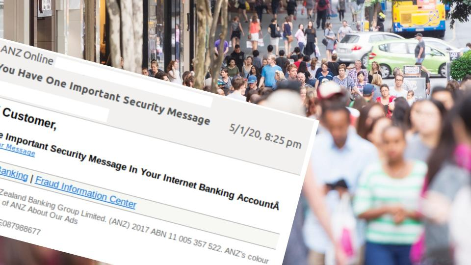 If you've received this email, delete it. Images: Getty, Mailguard