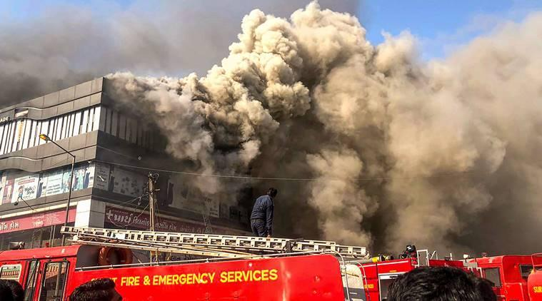 Surat fire tragedy: Two suspended fire officials arrested