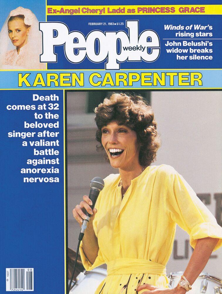 Karen Carpenter on the cover of PEOPLE