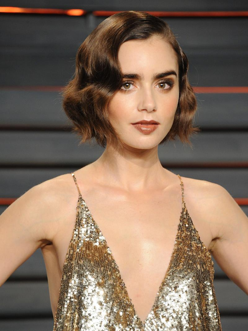 Lily Collins Just Dyed Her Hair A Crazy Cool Color