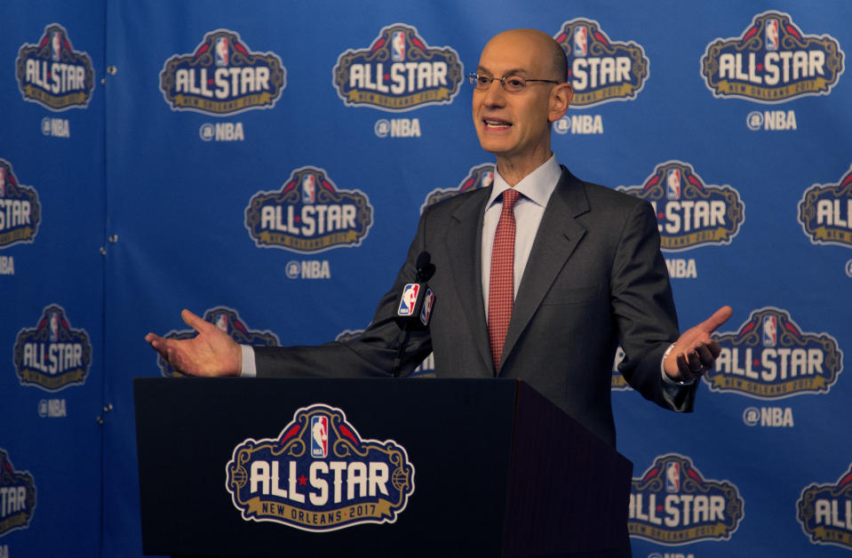 Under commissioner Adam Silver's watch, the NBA announced a new All-Star Game format. (AP)