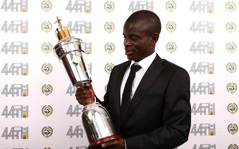 N'Golo Kanté was named the PFA Player of the Year on Sunday night - PA