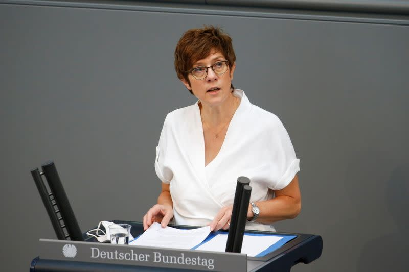 Last session of the lower house of parliament Bundestag before federal elections, in Berlin