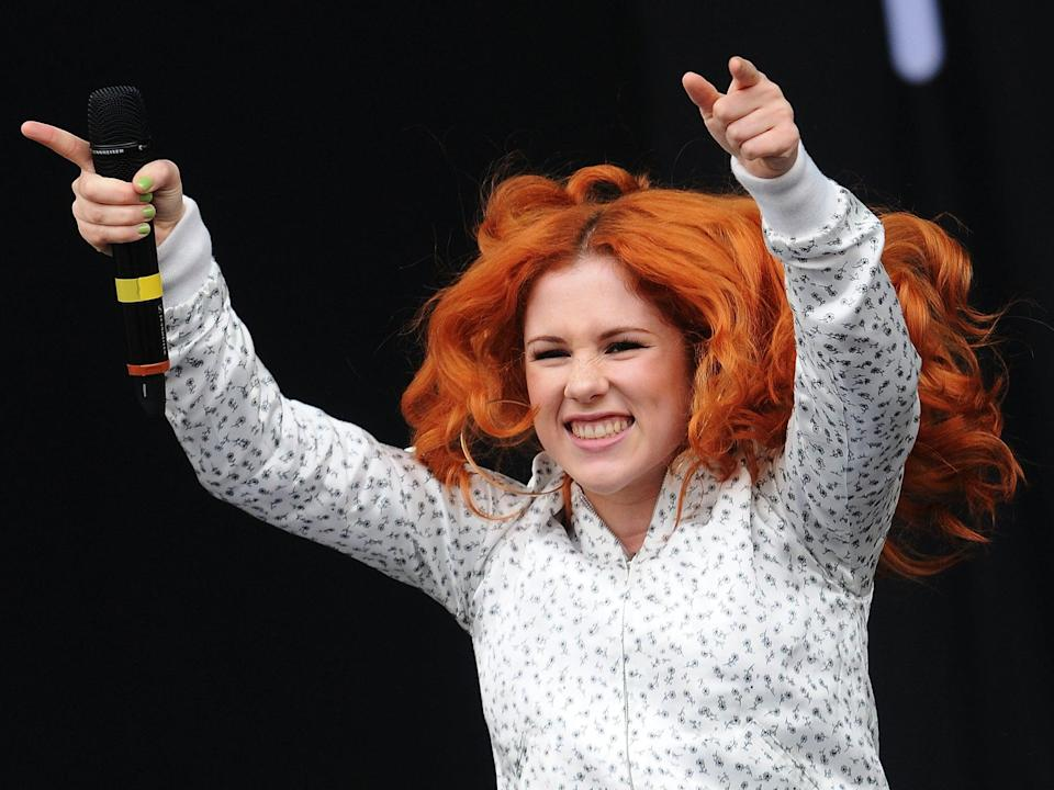 <p>Katy B performs at Wireless Festival in July 2011</p> (Getty)