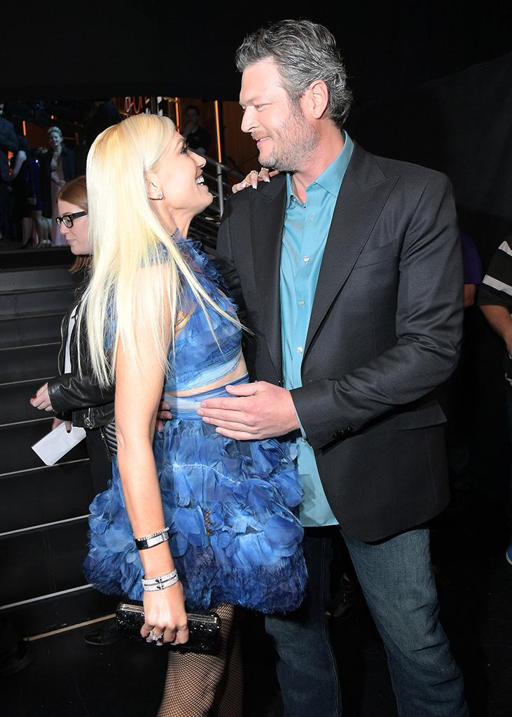 Blake Shelton has chosen to make light of rumors he's engaged to Gwen Stefani. (Photo: Charley Gallay/Getty Images for People's Choice Awards)