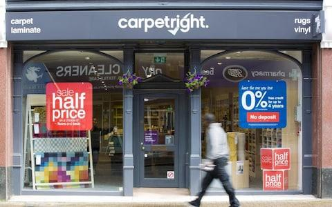 A Carpetright store - Credit: Jason Alden/Jason Alden