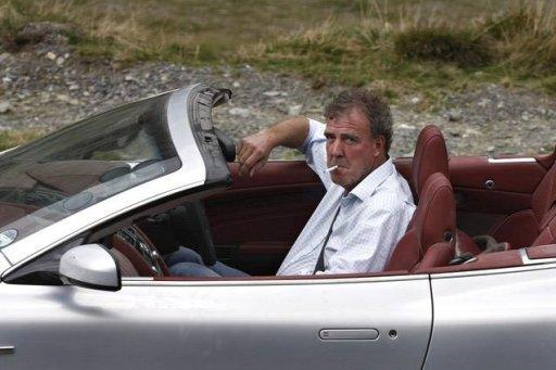 "File photo of BBC ""Top Gear"" presenter Jeremy Clarkson. Indian diplomats protested about a special edition of the BBC's popular ""Top Gear"" motoring show, claiming it had given a ""disgusting"" portrayal of their country"