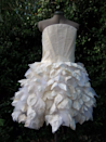 """<p>You read that right: This dress is literally made of BEER. In spring 2015, visual artist Donna Franklin and Australian textile innovator Nanollose <a href=""""http://laundry.reviewed.com/features/australians-designed-a-dress-made-of-beer"""" rel=""""nofollow noopener"""" target=""""_blank"""" data-ylk=""""slk:created a fluffy white mini dress"""" class=""""link rapid-noclick-resp"""">created a fluffy white mini dress</a> out of a material derived from byproducts of the bacterial fermentation process used to make beer—which they say is similar to cotton. They're actually hoping the fabric will one day be mass-produced. And for those of you who are wondering, no, it won't make the wearer smell like a frat party!</p>"""