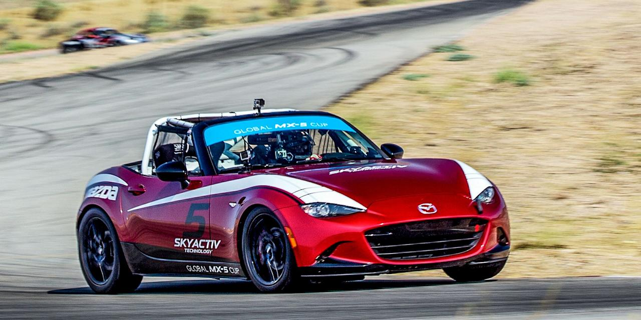 """<p><a href=""""http://www.roadandtrack.com/new-cars/first-drives/a26857/mazda-mx5-cup-first-drive/"""" target=""""_blank"""">The Mazda Global MX-5 Cup Car</a> is a fantastic proposition for amateur racers: A factory-prepped, turnkey race car you can just buy and drive, <a href=""""http://www.roadandtrack.com/new-cars/first-drives/a26857/mazda-mx5-cup-first-drive/"""" target=""""_blank"""">for a pretty reasonable price</a>. These cars should follow suit.</p>"""