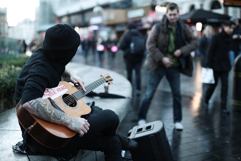 'Anti-social' busking has been banned under the rules (PA Images)