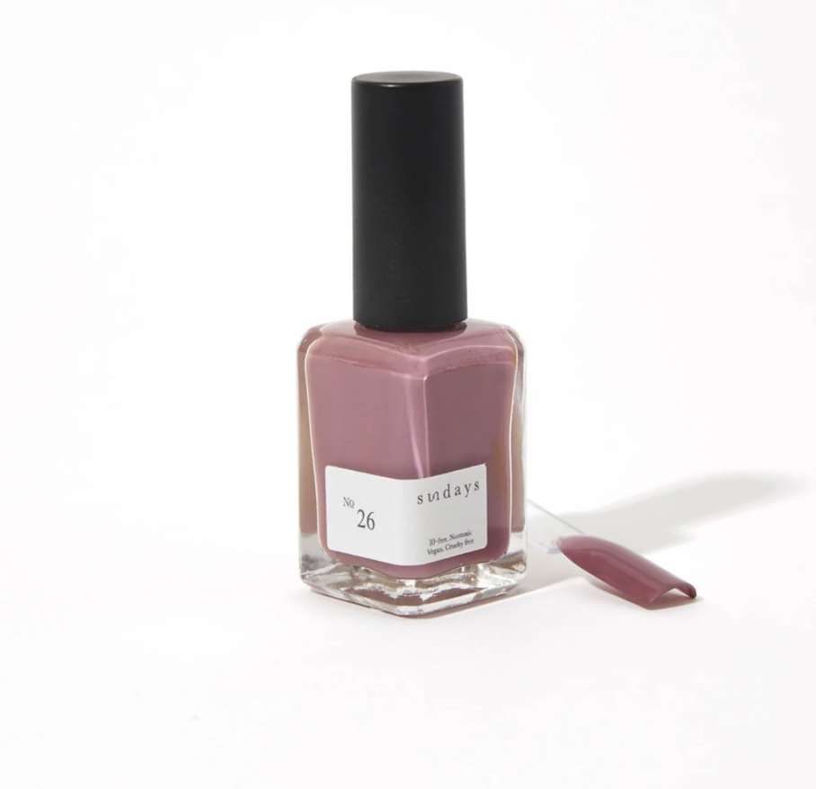 "<p>Finding the right words to express your ever changing sentiments is hard, especially when you wear your heart on your sleeve and are subject to criticisms from others. Wearing dusty mauve nail polish on your fingers will give you the strength to speak up at all times to be heard.</p> <p><strong>To shop:</strong> $18; <a href=""https://dearsundays.com/product/nail-polish/no-26/"" rel=""nofollow noopener"" target=""_blank"" data-ylk=""slk:dearsundays.com"" class=""link rapid-noclick-resp"">dearsundays.com</a></p>"