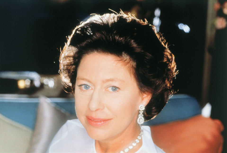 England's Princess Margaret at the time of her 50th birthday in 1980.