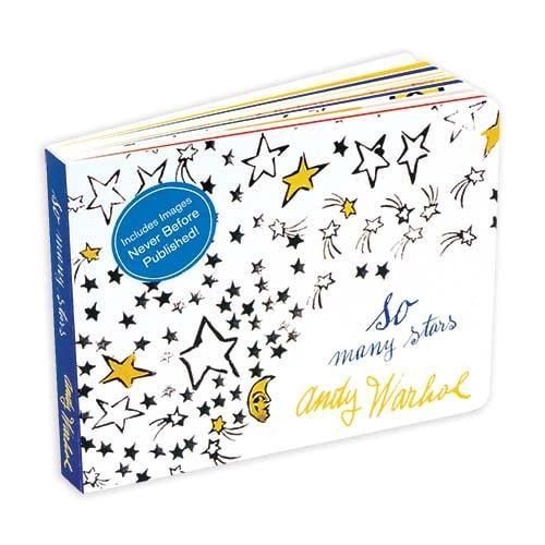 <p>A baby board book with an artistic edge, <span>So Many Stars</span> ($13) features 26 pages of the iconic Warhol's most playful and imaginative illustrations. </p>
