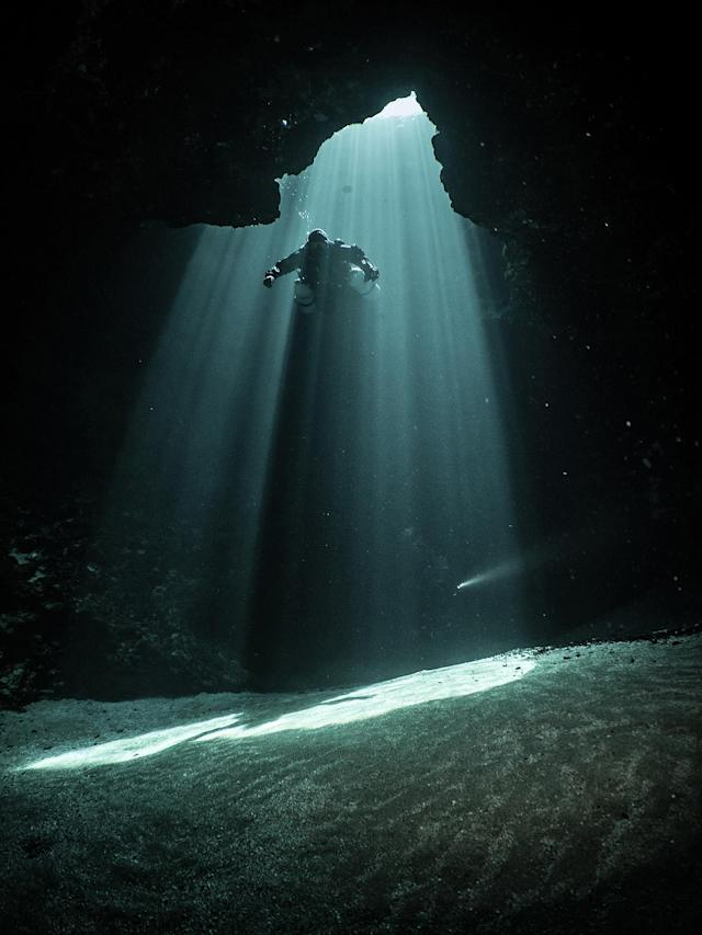 <p>Jug Hole, Florida, USA. (Photo: Laurent Miroult / NSS / Caters News) </p>
