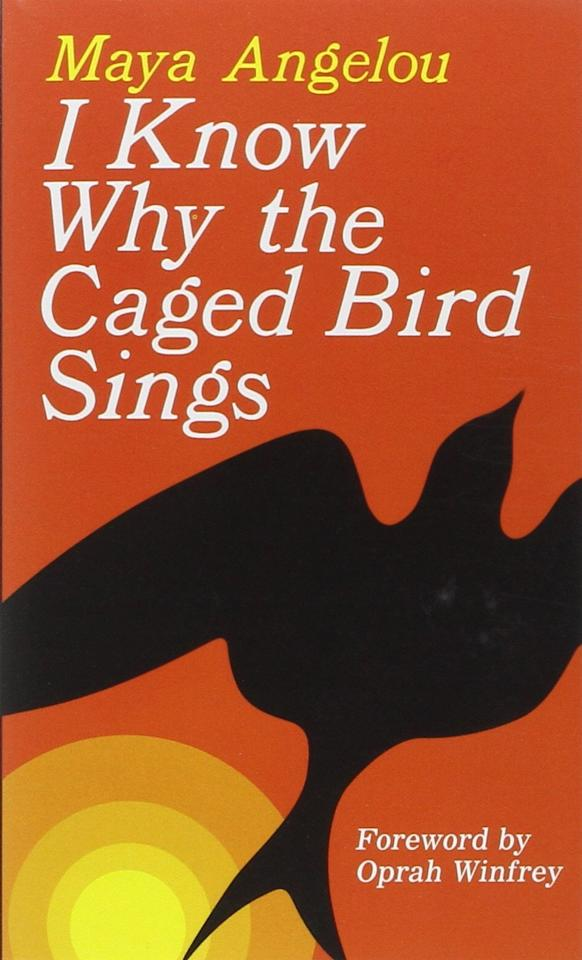 "<p>Published in 1969, the autobiography <a href=""https://www.popsugar.com/buy?url=https%3A%2F%2Fwww.amazon.com%2FKnow-Why-Caged-Bird-Sings%2Fdp%2F0345514408&p_name=%3Cstrong%3EI%20Know%20Why%20the%20Caged%20Bird%20Sings%3C%2Fstrong%3E&retailer=amazon.com&evar1=pop%3Aus&evar9=43133088&evar98=https%3A%2F%2Fwww.popsugar.com%2Fcelebrity%2Fphoto-gallery%2F43133088%2Fimage%2F43134189%2FI-Know-Why-Caged-Bird-Sings-Maya-Angelou&list1=books%2Crace%20and%20culture&prop13=api&pdata=1"" rel=""nofollow"" data-shoppable-link=""1"" target=""_blank"" class=""ga-track"" data-ga-category=""Related"" data-ga-label=""https://www.amazon.com/Know-Why-Caged-Bird-Sings/dp/0345514408"" data-ga-action=""In-Line Links""><strong>I Know Why the Caged Bird Sings</strong></a> is the coming-of-age story of world-renowned poet and activist Maya Angelou. Beginning just at the age of 3, the story follows Angelou's troubled life, including sexual abuse and rape, to becoming a teen mother in the South in 1945. The first in a series of seven books that chronicle her life, this memoir addresses issues such as racism, identity, family, death, motherhood, and literacy. In a troubled world with bleak circumstances, Maya propelled herself forward with dreams, hopes, and words. </p>"