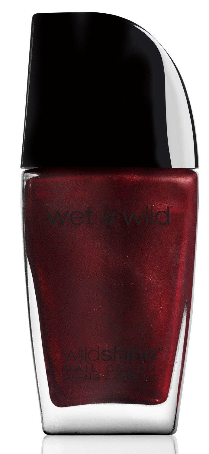 "<h3>Wet N' Wild Nail Color in Burgundy Frost </h3><br>This rich red polish costs less than a dollar, which is reason enough to hop on board the burgundy trend and grab it the next time you're at the drugstore.<br><br><strong>Wet N' Wild</strong> Wild Shine Nail Color in Burgundy Frost, $, available at <a href=""https://www.wetnwildbeauty.com/wild-shine-nail-color.html"" rel=""nofollow noopener"" target=""_blank"" data-ylk=""slk:Wet n Wild"" class=""link rapid-noclick-resp"">Wet n Wild</a>"
