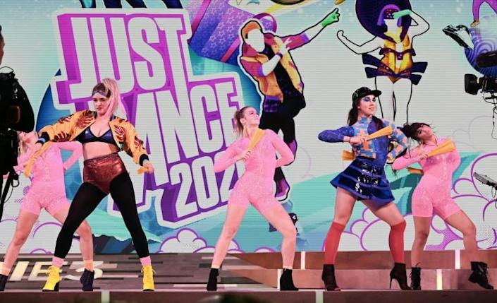 Just Dance is one title by Ubisoft, which just shed a number of senior executives after sexual harassment allegations (AFP Photo/Robyn Beck)