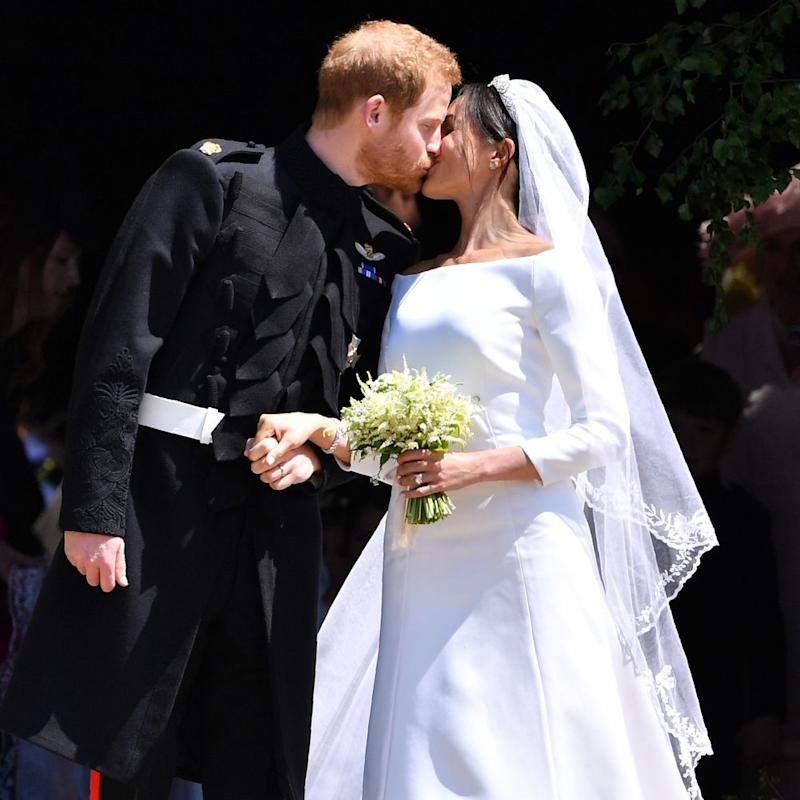 Prince Harry and Meghan Markle on their wedding day | Ben STANSALL - WPA Pool/Getty Images