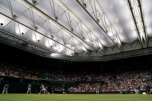 The roof over Centre Court