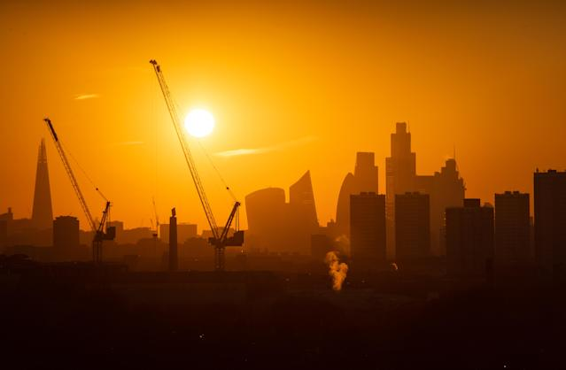 In March, UK GDP fell by 5.8% compared to February, the largest monthly contraction since records began. (Dominic Lipinski/PA Wire)