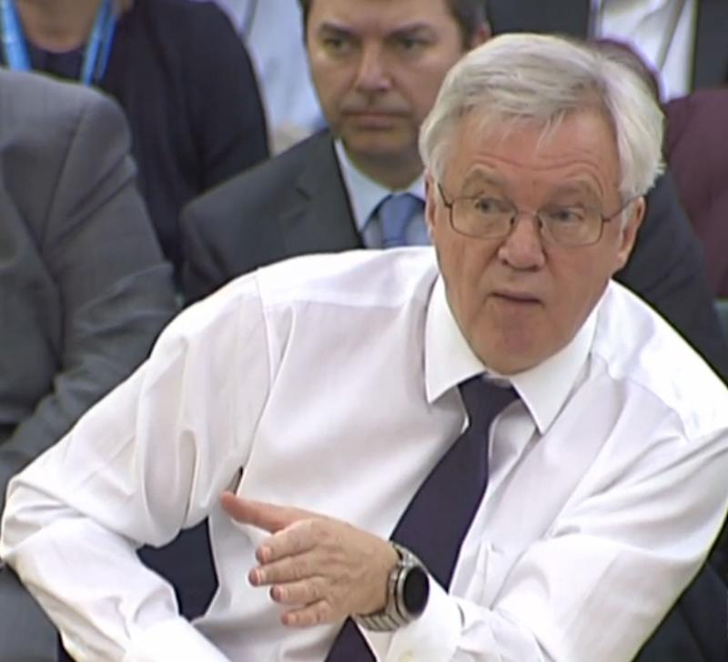 Brexit will provoke 'paradigm change' similar to 2008 crash, Davis tells MPs