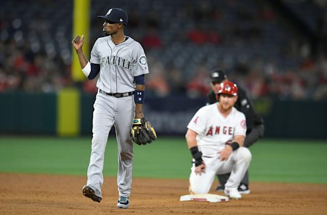 Three weeks into the season, the Mariners led the American League in home runs, walks and strikeouts. (Getty Images)