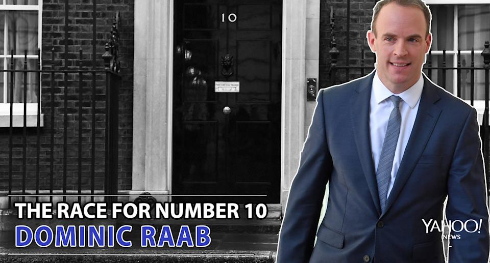 Race for Number 10: Dominic Raab