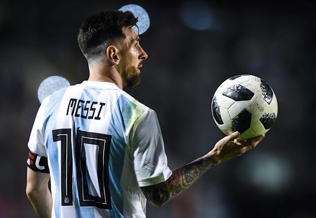 <p>Lionel Messi is part of the Argentina squad valued at €925m. </p>