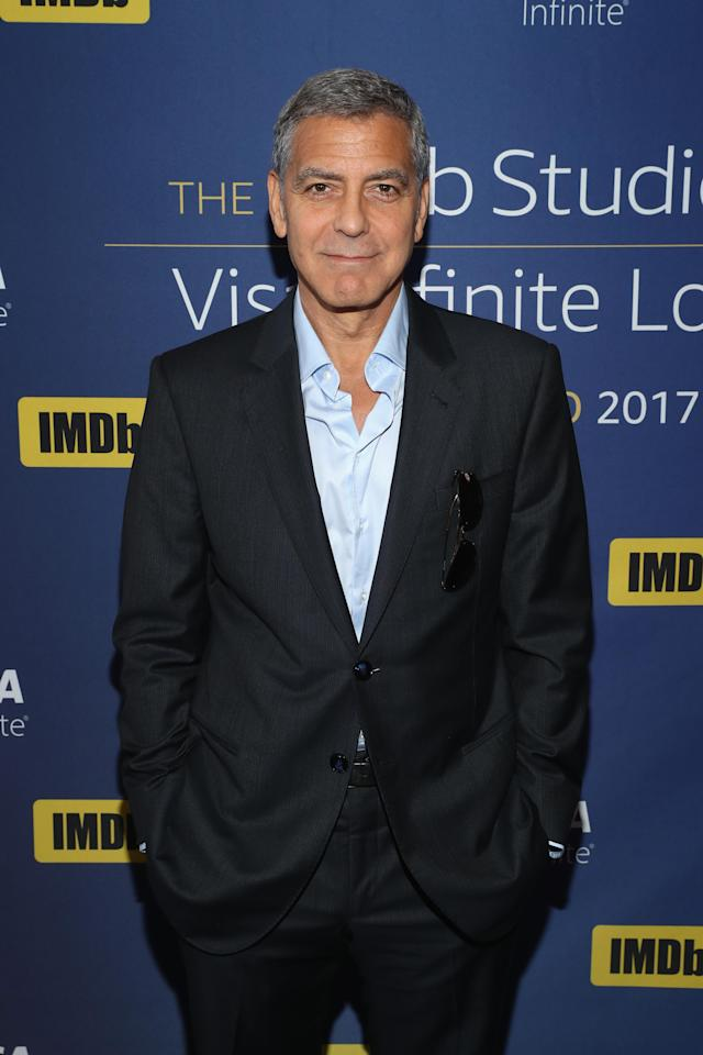George Clooney reportedly wants women to love their bodies. (Photo: Getty Images)