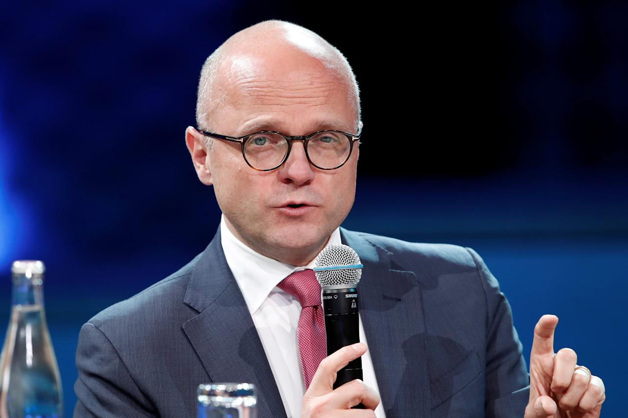 Norway's Minister of Climate and Environment Vidar Helgesen attends the One Planet Summit at the Seine Musicale center in Boulogne-Billancourt, near Paris, France, December 12, 2017. REUTERS/Benoit Tessier