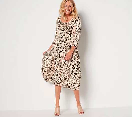 Dress it up or down — this look goes everywhere. (Photo: QVC)