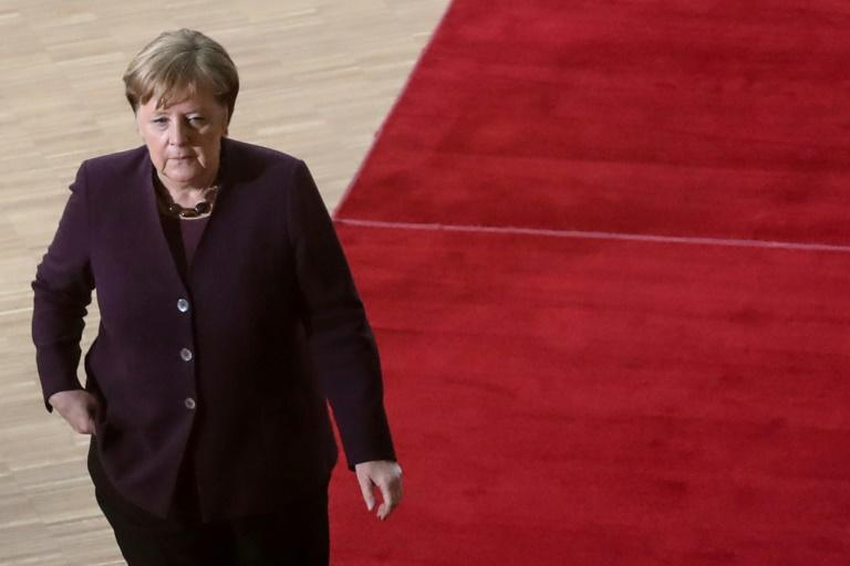 The outcome of the leadership vote could determine whether Angela Merkel can stay as German chancellor until next year's elections