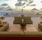 """<p>There isn't much out there about the interiors of Geffen's yacht, but we do know it was designed by <a href=""""https://www.bannenbergandrowell.com/"""" rel=""""nofollow noopener"""" target=""""_blank"""" data-ylk=""""slk:Bannenberg and Rowell"""" class=""""link rapid-noclick-resp"""">Bannenberg and Rowell</a>. </p>"""