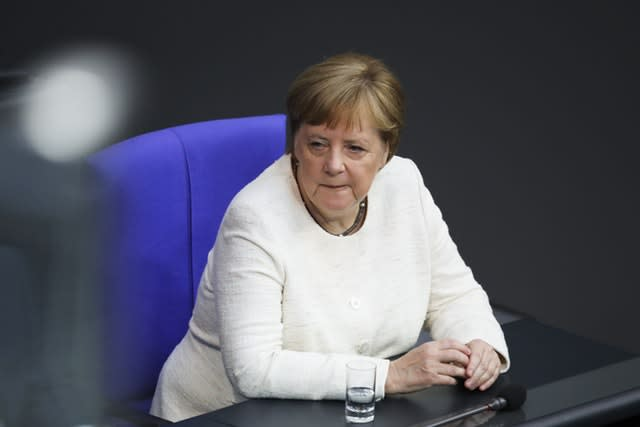 Chancellor Merkel Shaking Uncontrollably Twice in 9 Days