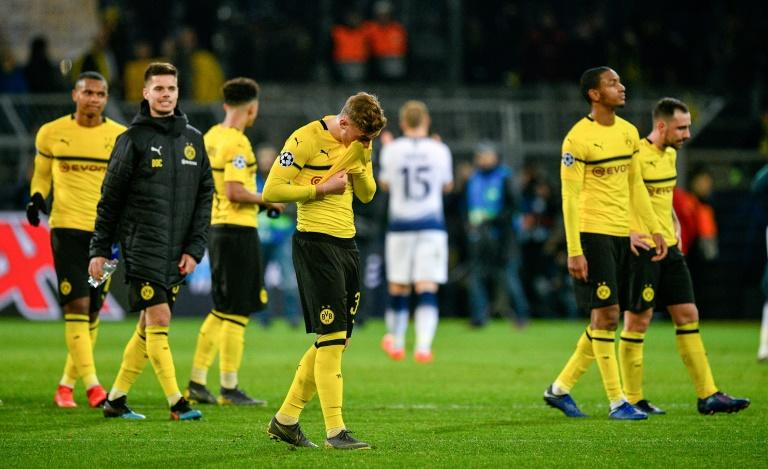 Borussia Dortmund were one of three German clubs knocked out by English opposition in the second round of the Champions League this season