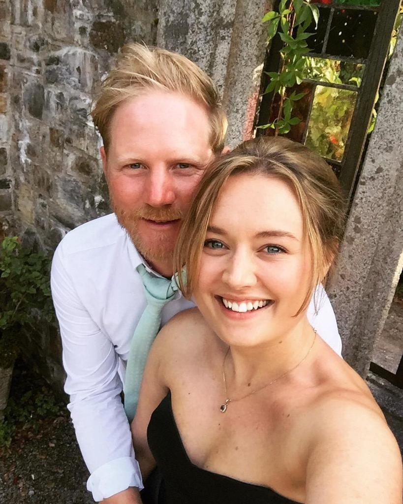 Megan Swan and fiancee Dexter Hurlock, who face changing their wedding plans 10 days before the ceremony (Megan Swan).