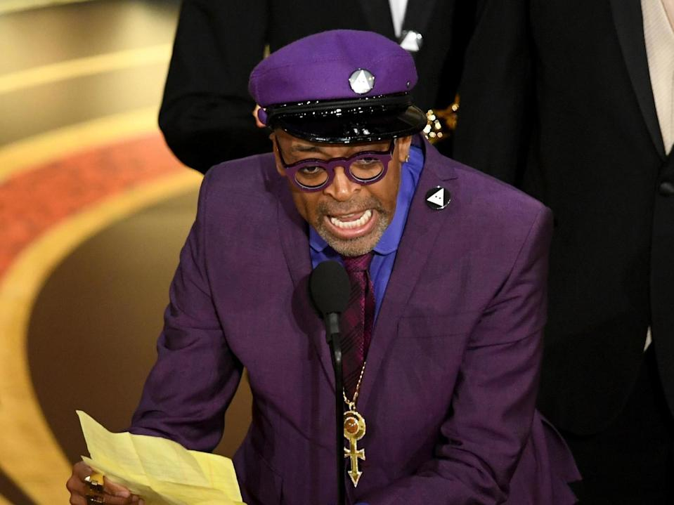 Spike Lee responds to Trump's Oscars tweets: 'They change the narrative, but no one's going for that'