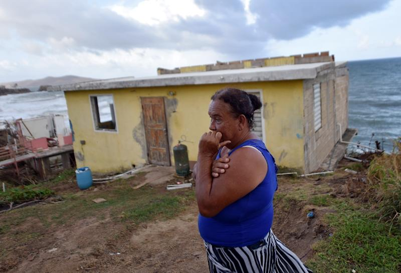 Hurricane Maria killed 2,975 people in Puerto Rico, a long-awaited independent investigation by George Washington University into the 2017 storm concluded last month (AFP Photo/HECTOR RETAMAL)