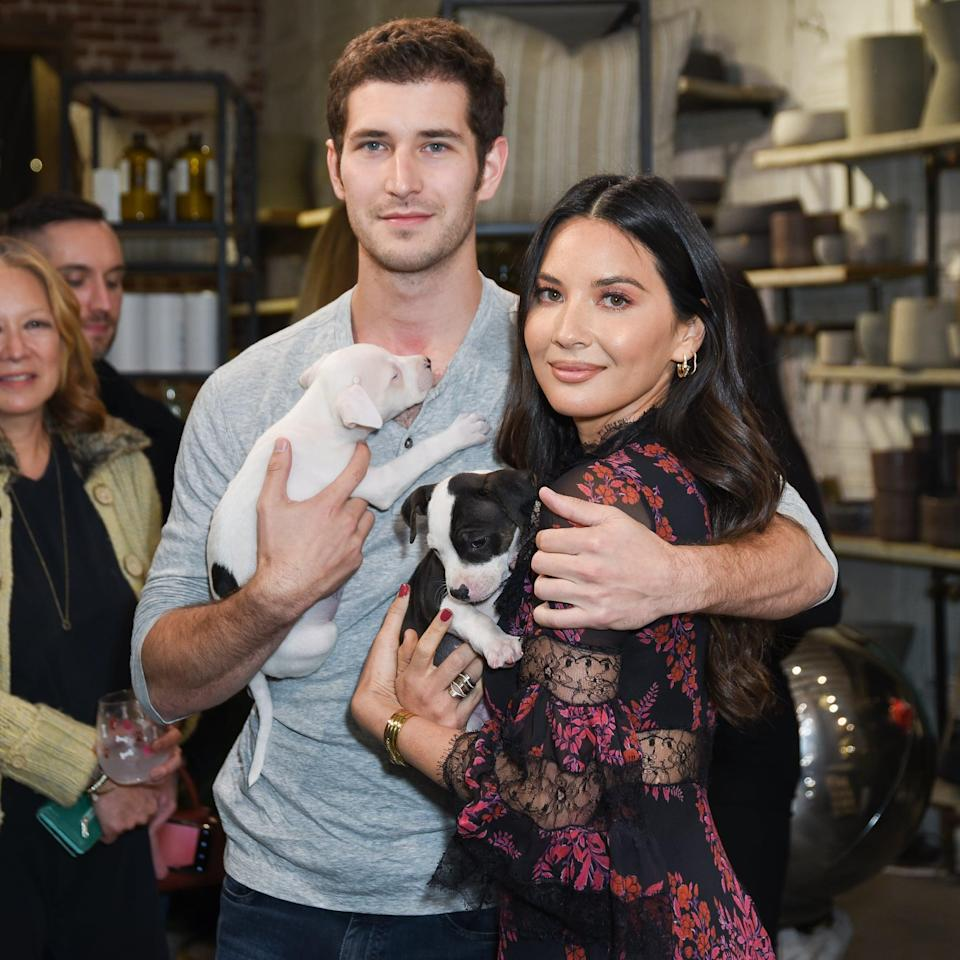 """<p>Rumors of a romance between Olivia and the Philadelpia Fusion president began swirling in December 2018, but it wasn't until a year later that <a href=""""https://www.usmagazine.com/celebrity-news/news/olivia-munn-debuts-relationship-with-tucker-roberts/"""" class=""""link rapid-noclick-resp"""" rel=""""nofollow noopener"""" target=""""_blank"""" data-ylk=""""slk:they went public with their relationship"""">they went public with their relationship</a>. However, <a href=""""https://www.usmagazine.com/celebrity-news/news/olivia-munn-boyfriend-tucker-roberts-split-after-dating-more-than-a-year/"""" class=""""link rapid-noclick-resp"""" rel=""""nofollow noopener"""" target=""""_blank"""" data-ylk=""""slk:they broke up shortly after"""">they broke up shortly after</a>.</p>"""