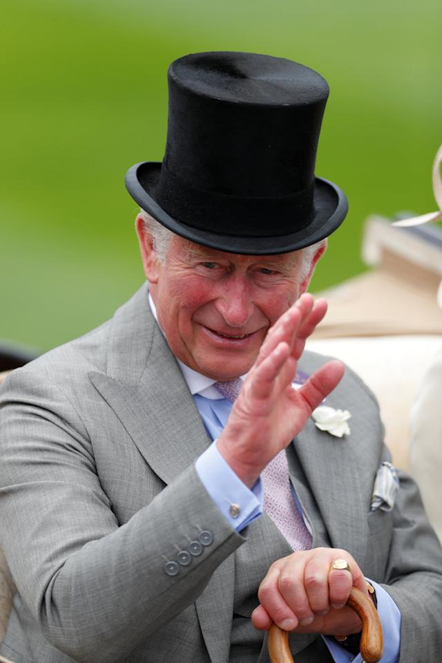 REFILE - CORRECTING ID Horse Racing - Royal Ascot - Ascot Racecourse, Ascot, Britain - June 19, 2018 Britain's Charles, Prince of Wales arrives at Ascot racecourse. REUTERS/Paul Childs