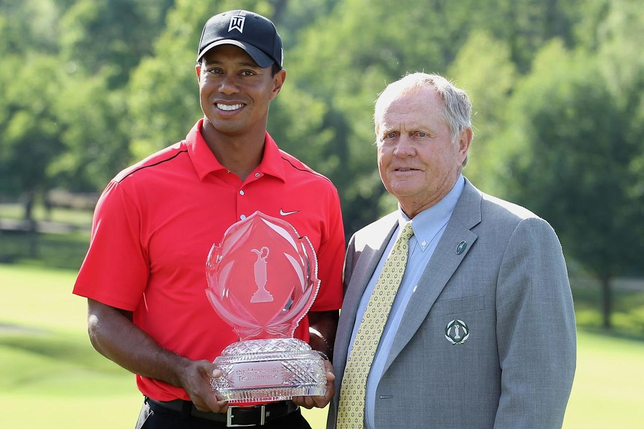 Jack Nicklaus 'puzzled' by what's going on with Tiger Woods