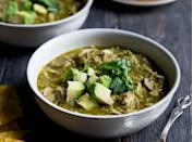 """<h2>8. Slow-Cooker Chicken Chile Verde</h2> <p>Serve this keto-friendly dish with a side of cauliflower rice.</p> <p><a class=""""link rapid-noclick-resp"""" href=""""https://www.ambitiouskitchen.com/healthy-slow-cooker-chicken-chile-verde/"""" rel=""""nofollow noopener"""" target=""""_blank"""" data-ylk=""""slk:Get the recipe"""">Get the recipe</a></p>"""