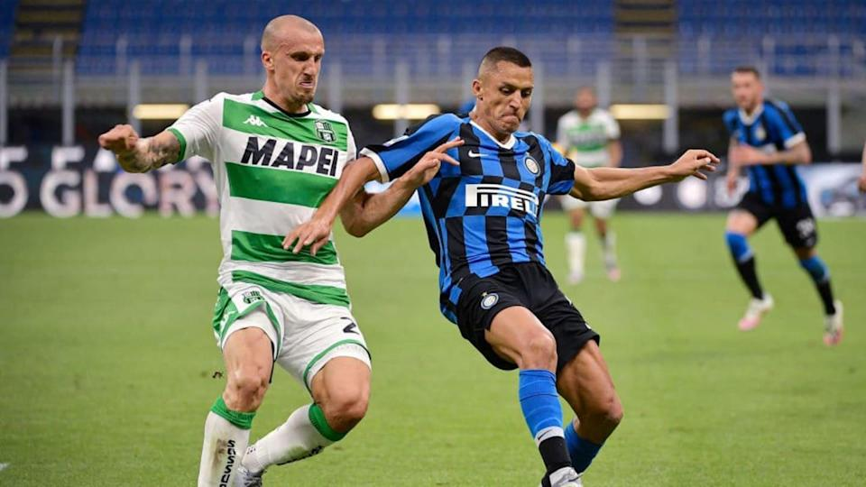Internazionale v Sassuolo - Italian Serie A | Soccrates Images/Getty Images