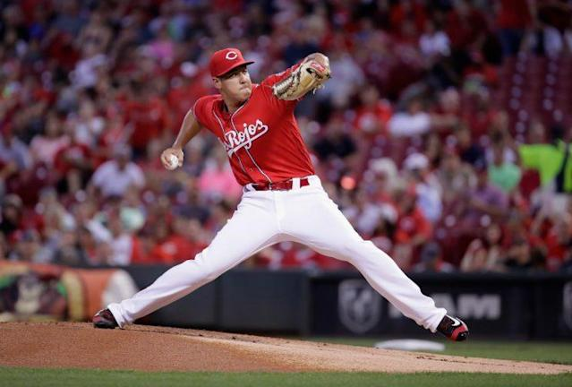 Getting Robert Stephenson on track is a key for Cincinnati. (Getty Images/Andy Lyons)