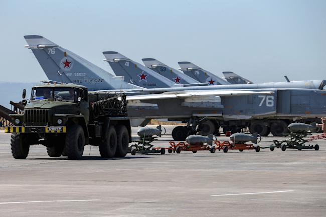 russian military jets syria