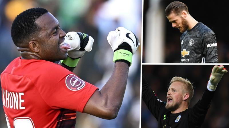 Coronavirus: Kaizer Chiefs' Khune learning from De Gea and Schmeichel mistakes